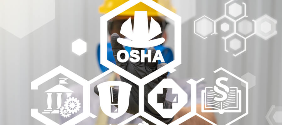 Occupational Safety and Health Administration (OSHA) Industry Professional Work Concept.